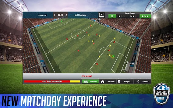 Soccer Manager 2018 (Unreleased) APK screenshot thumbnail 7