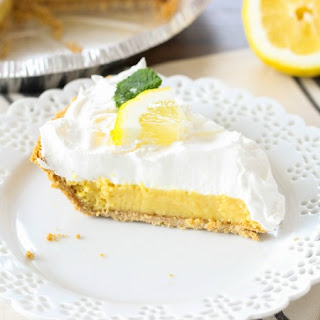 Lemon Pie With Crumb Topping Recipes