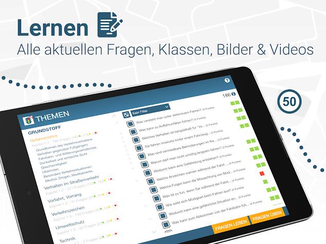 Führerschein 2018 PRO - Fahrschule Theorie Screenshot