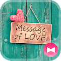 icon&wallpaper-Message of Love APK baixar