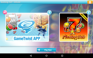 Screenshot of Sizzling Hot™ Deluxe Slot