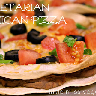 Taco Bell-Style Mexican Pizza (Vegetarian)