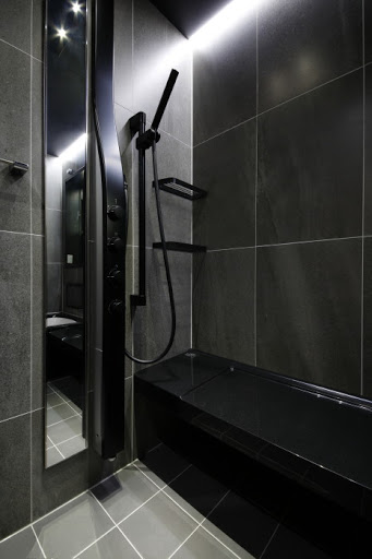 充実したシャワーシステム