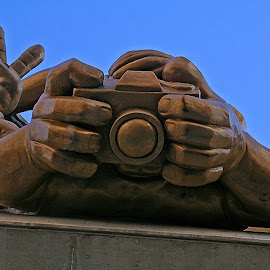 Selfie xx by Wilson Beckett - Buildings & Architecture Statues & Monuments