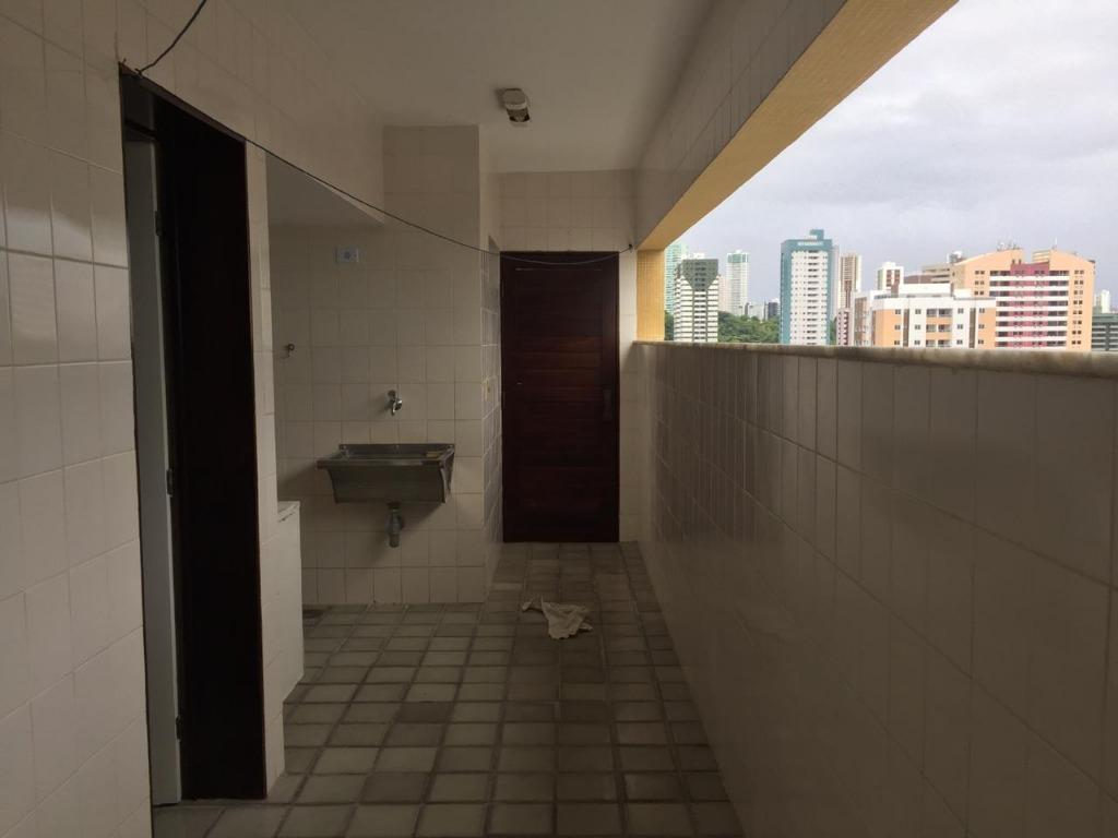 Apartamento com 3 dormitórios para alugar, 185 m² por R$ 1.300/mês - Manaíra - João Pessoa/PB