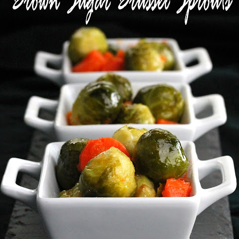 Brown Sugar Brussel Sprouts and Carrots