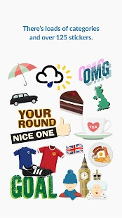 Britmoji - UK Emoji Stickers! - screenshot