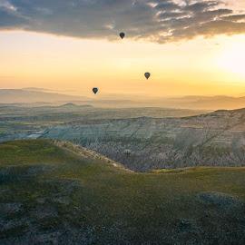 turkey by Haddouchi Tarik - Landscapes Sunsets & Sunrises ( picture, sunrise, turkey, photo, cappadocia )