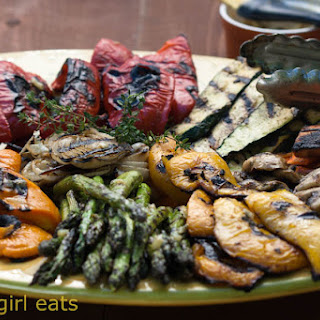 Grilled Vegetables with Lemon Thyme Butter