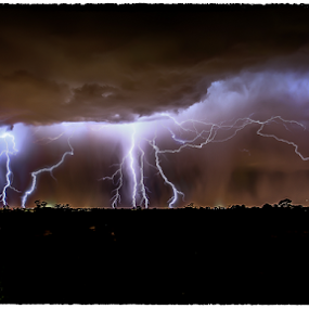 Arizona Monsoon by Stephan Guenot - Landscapes Weather