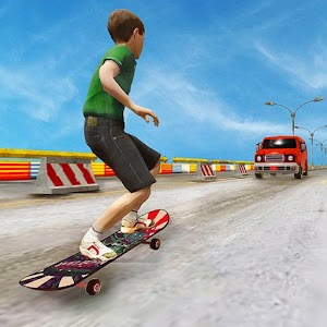 Highway Stunts: Skateboard Game For PC / Windows 7/8/10 / Mac – Free Download