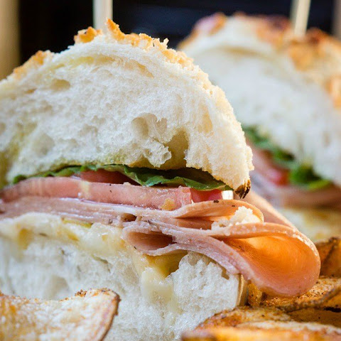 Mortadella and Smoked Gouda Deli Sandwiches