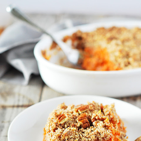 Sweet Potato Souffle (Vegan, Gluten Free)