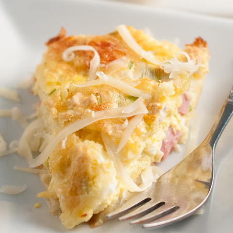 Ham, Egg, and Cheese Casserole