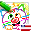 Free Drawing for Kids! Learning Games for Toddlers APK for Windows 8