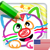 Drawing for Kids! Learning Games for Toddlers Icon