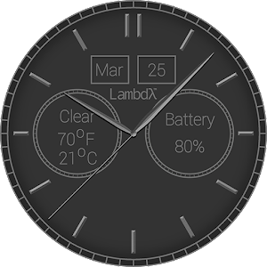 Lambdλ™ Excellence Watch Face