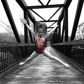 Jump by Bridget Wegrzyn - Digital Art People