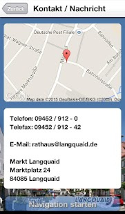 Markt Langquaid - screenshot