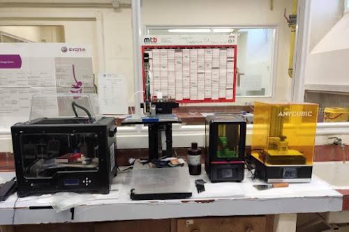 Laboratorio de impresión 3D de la Facultad de Farmacia (UCM).