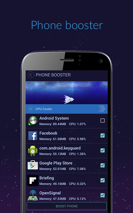 Super Booster Pro Screenshot 1
