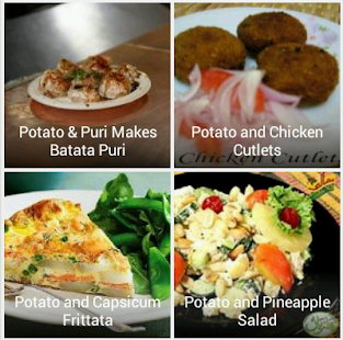 Patato Recipes - screenshot