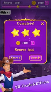 Game Cowboy Solitaire Match APK for Kindle