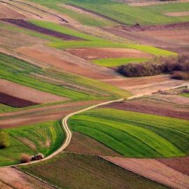 view of the valley by Zoran Kolaric - Landscapes Prairies, Meadows & Fields ( croatia, valley, kalnik, landscape, spring,  )