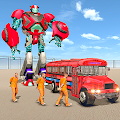 Us Police Prisoner Transport Robot Bus APK
