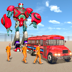 Us Police Prisoner Transport Robot Bus For PC / Windows 7/8/10 / Mac – Free Download