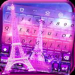 Pink Paris KK keyboard Theme Icon