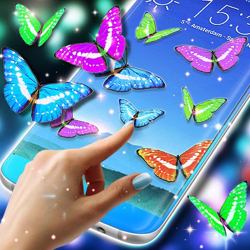 Real Butterflies on Screen (app)