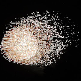 Ball of silver. by Carolyn Kernan - Public Holidays July 4th (  )