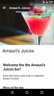 Amauri's Juices - screenshot