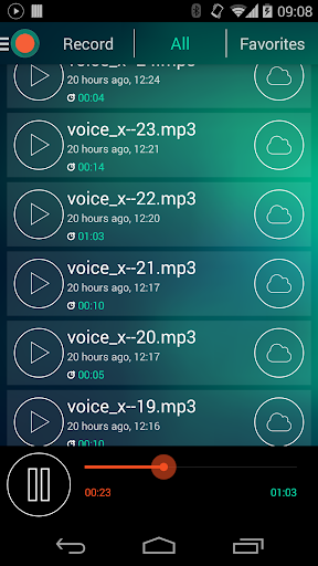 Voice Recorder - Dictaphone screenshot 4