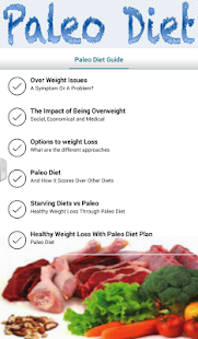 Paleo Diet Guide - screenshot