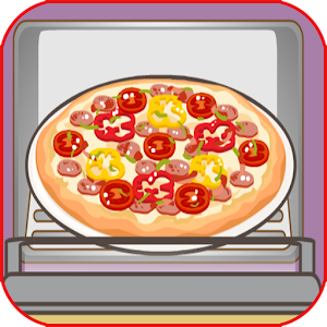 cooking yummy pizza for kids