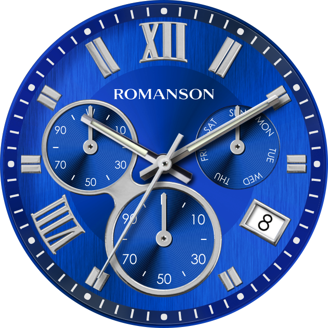 Tempting watchface by Romanson Screenshot 5