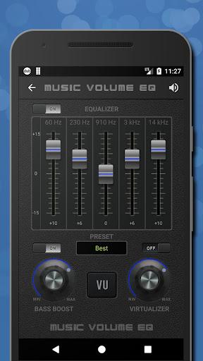 Music Volume EQ - Sound Bass Booster & Equalizer screenshot 2