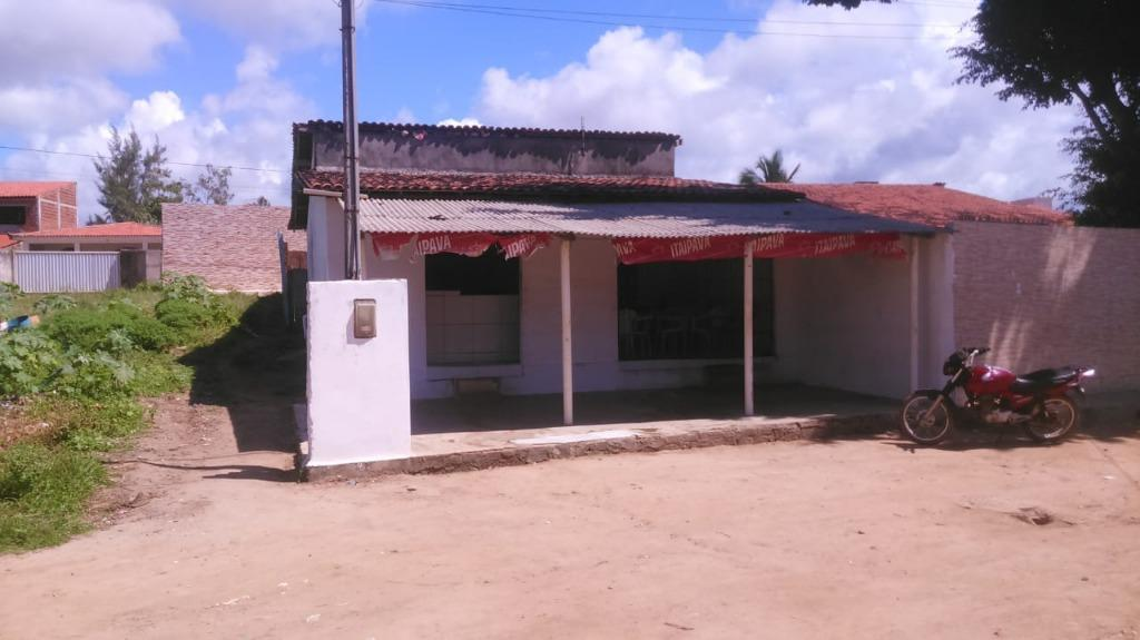 Casa com Comércio em funcionamento à venda por R$ 120.000,00 - Cidade Balnearia Novo Mundo - Conde/PB
