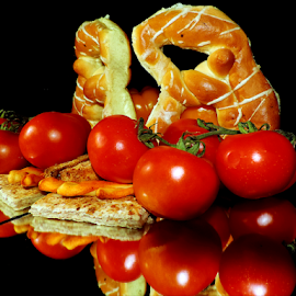 tomatoes with baking by LADOCKi Elvira - Food & Drink Fruits & Vegetables ( tomatoes )