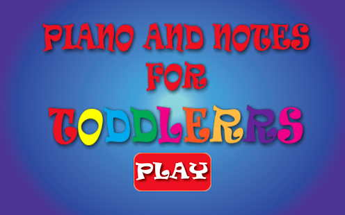 Piano And Notes For Toddlers for pc
