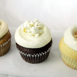 Butter Lane's Banana Cupcakes with Cream Cheese Frosting