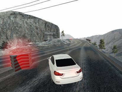 Mountain Race Simulator - screenshot
