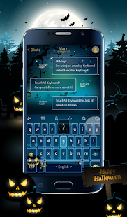 TouchPal Hallowmas Theme - screenshot