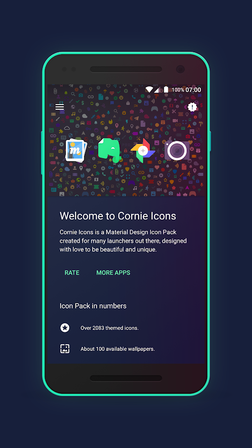 Cornie Icons Screenshot 4