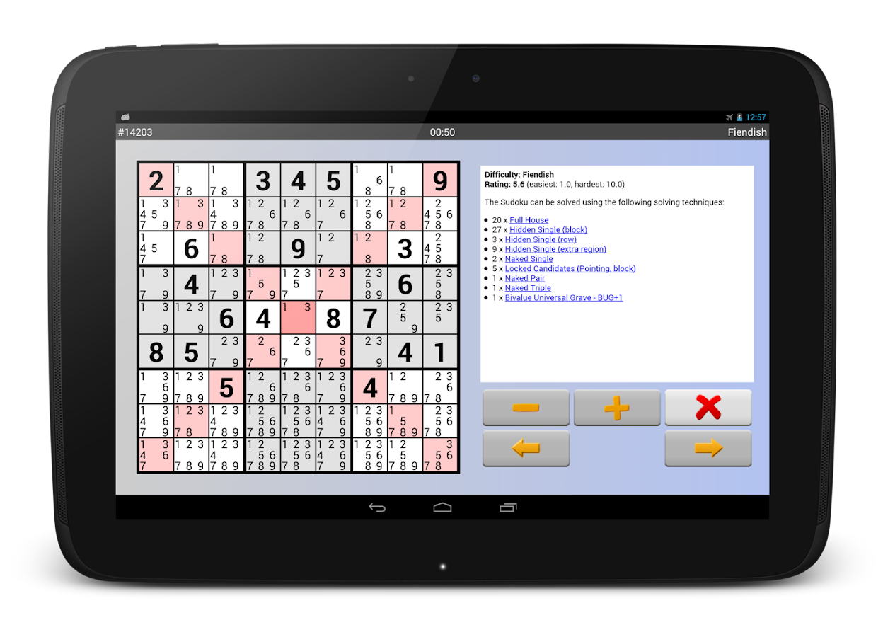 Sudoku 4ever Plus Screenshot 9