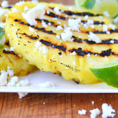 Grilled Pineapple Salad