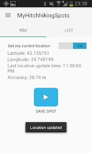 Free My Hitchhiking Spots APK for Windows 8