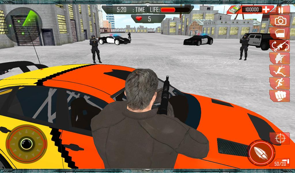 Grand Car Chase Auto Theft 3D Screenshot 13